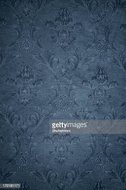 Blue Gray Victorian Background