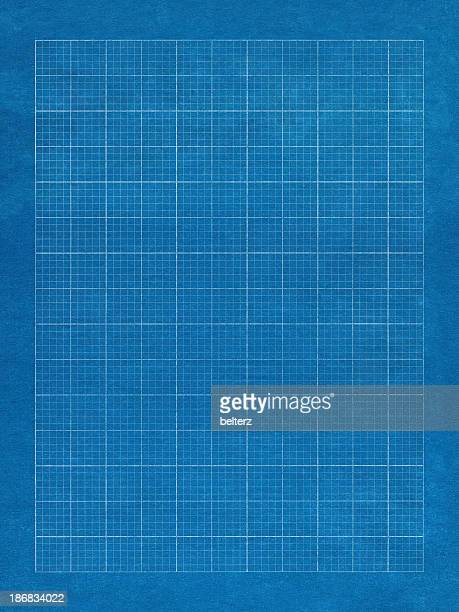 blue grid paper with white lines - graph stock pictures, royalty-free photos & images