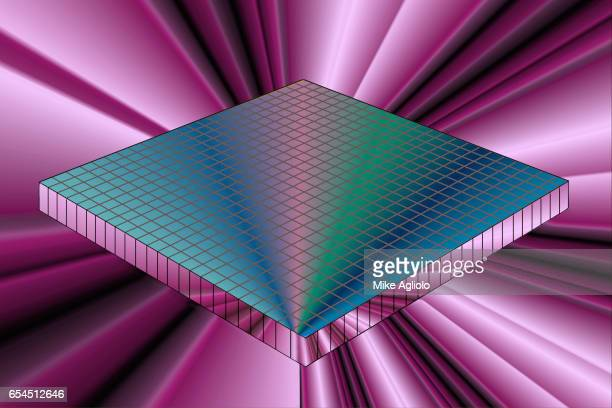 blue grid - mike agliolo stock pictures, royalty-free photos & images