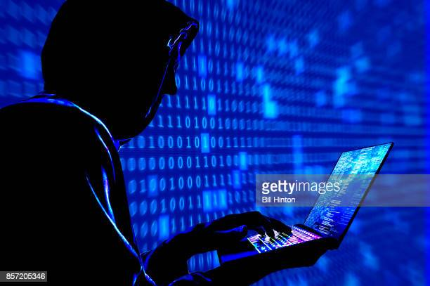 blue hacker code - phishing stock pictures, royalty-free photos & images
