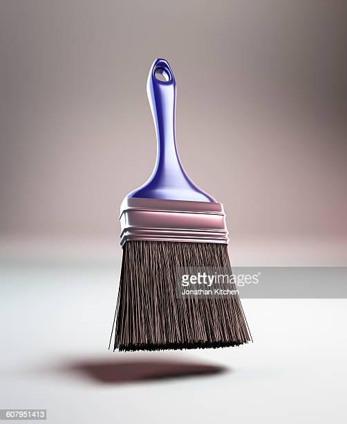 Blue handled Paint brush
