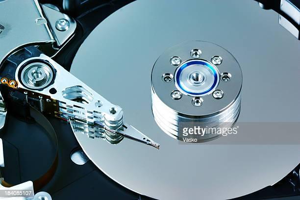 disco rígido azul 1 - dureza - fotografias e filmes do acervo