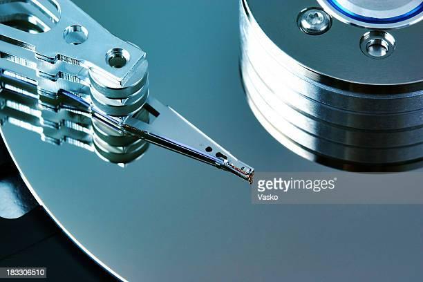 disco rígido azul 2 - dureza - fotografias e filmes do acervo