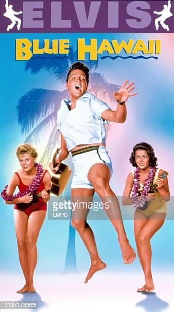 Blue Hawaii poster Pamela Austin Elvis Presley Joan Blackman 1961