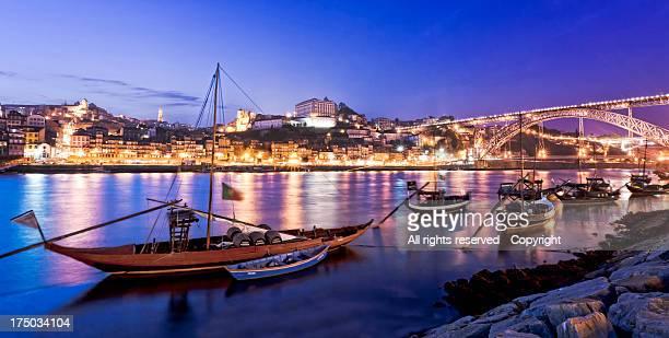 Blue hour at Oporto (Porto)