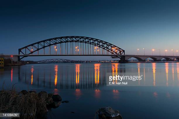 Blue hour bridge