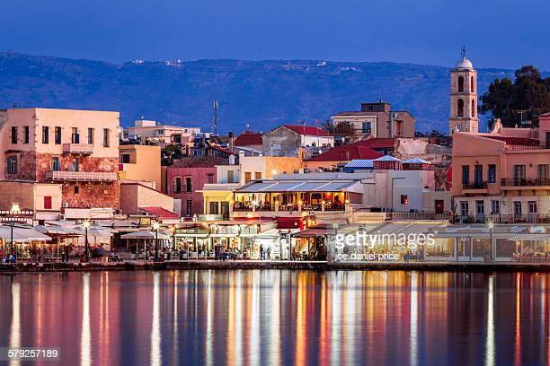 Blue hour, Chania, Crete, Greece