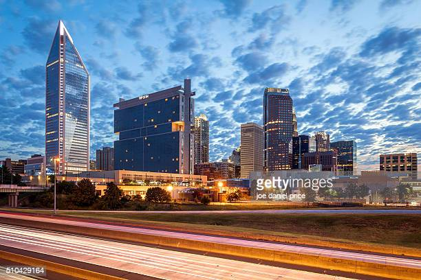Blue Hour, Charlotte, North Carolina, America