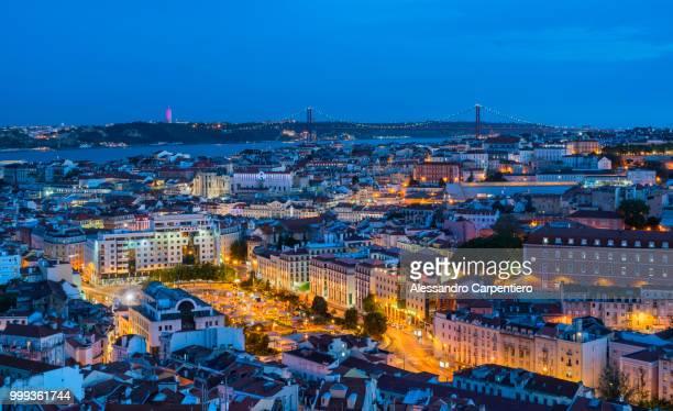 Blue Hour in Lisbon