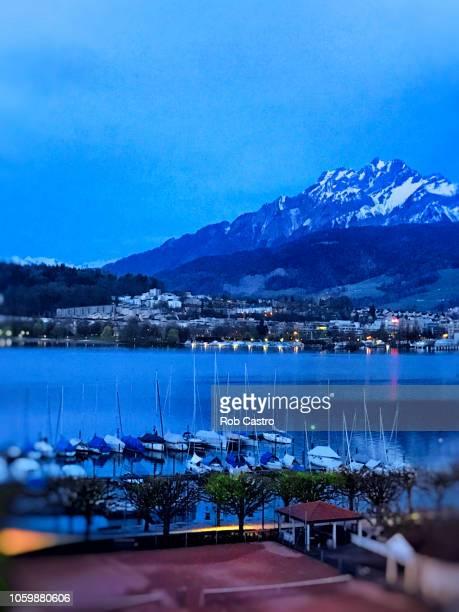 Blue Hour in Lucerne