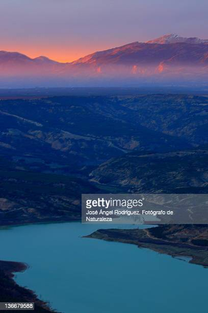 blue hour in negratin - fotógrafo stock photos and pictures