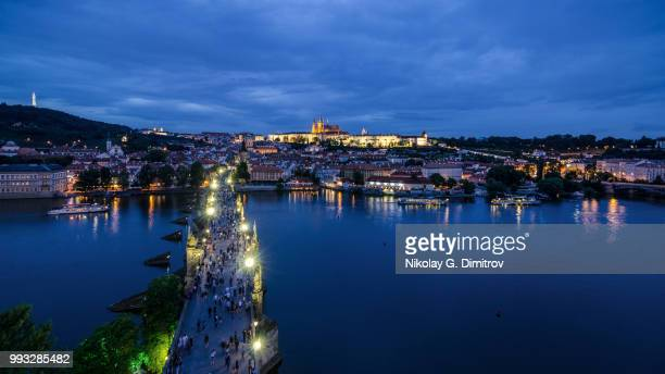 Blue hour in Prague