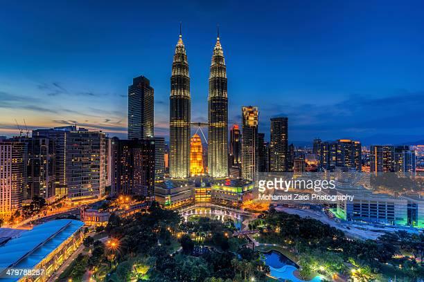 Blue Hour | Kuala Lumpur City Center