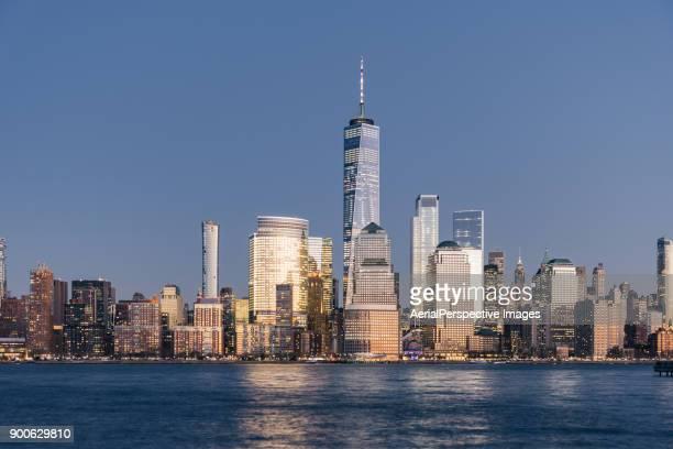 Blue hour over Manhattan