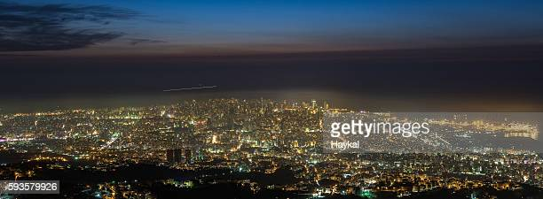 Blue Hour Panorama of Beirut...