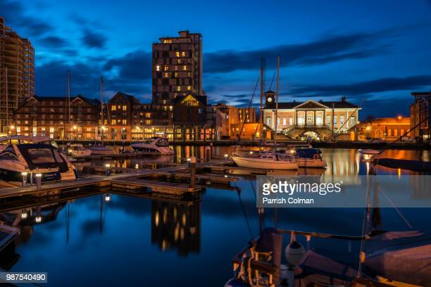 blue hour - colman stock photos and pictures