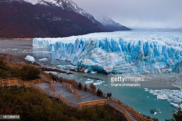 Blue ice, Perito Moreno, Patagonia, Argentina