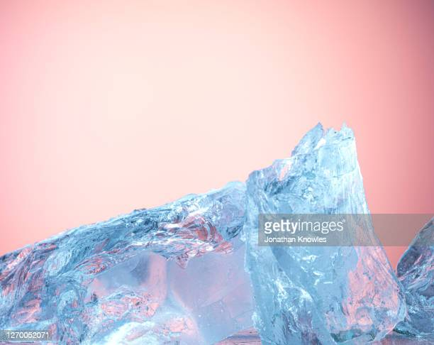 blue ice - ice stock pictures, royalty-free photos & images