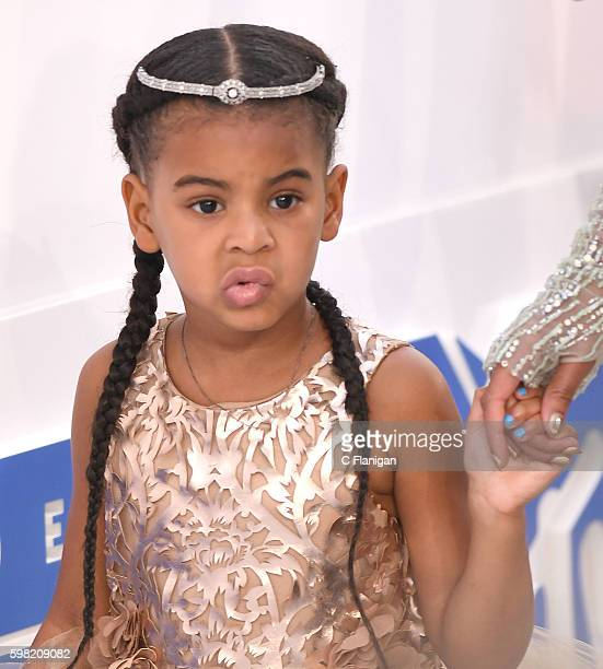 Blue Ivy Carter attends the 2016 MTV Video Music Awards at Madison Square Garden on August 28 2016 in New York City