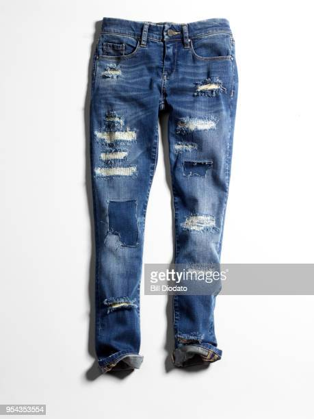blue jeans - trousers stock pictures, royalty-free photos & images