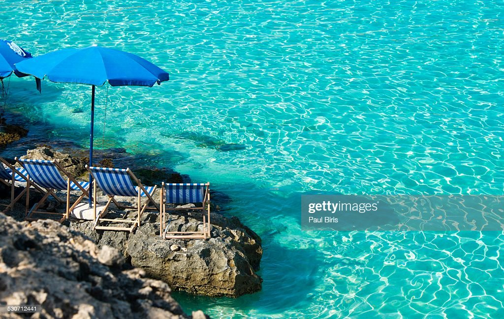 Blue Lagoon Camino Island Malta : Stock Photo