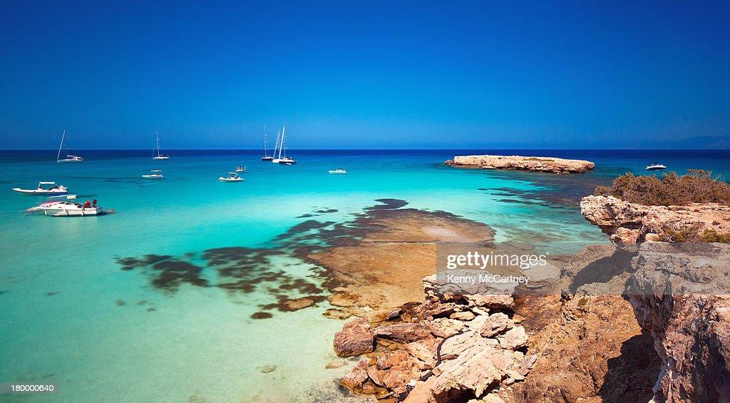 Blue Lagoon, Cyprus : Stock Photo