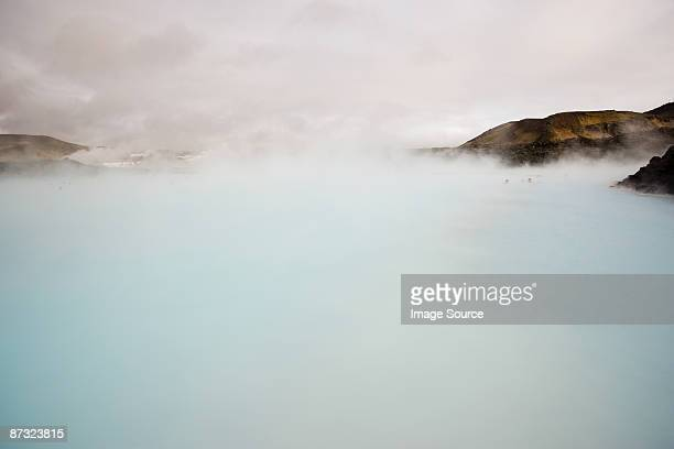 Blue lagoon geothermal hot springs