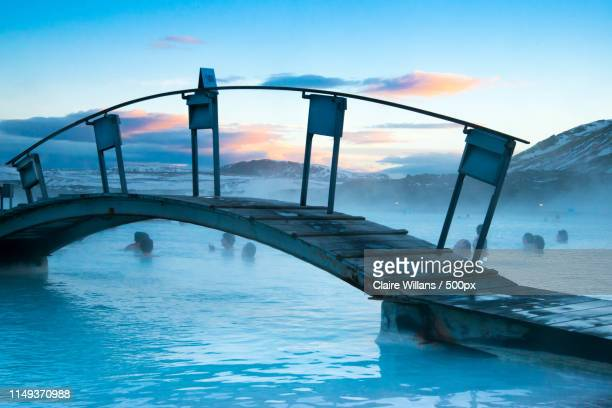 blue lagoon, iceland - reykjavik stock pictures, royalty-free photos & images