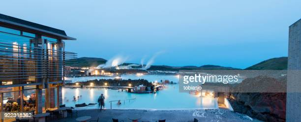 blue lagoon iceland - blue lagoon iceland stock pictures, royalty-free photos & images