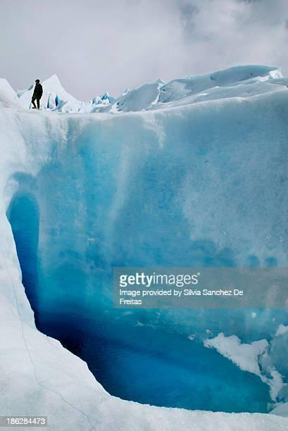 Blue lagoon Perito Moreno