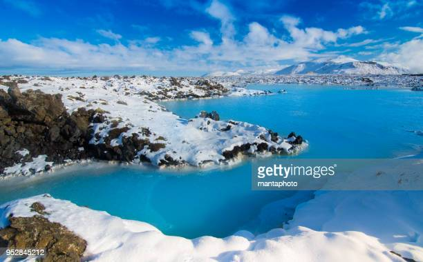 blue lagoon - iceland stock pictures, royalty-free photos & images