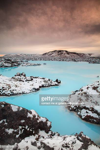 blue lagoon reykjavik - blue lagoon iceland stock pictures, royalty-free photos & images