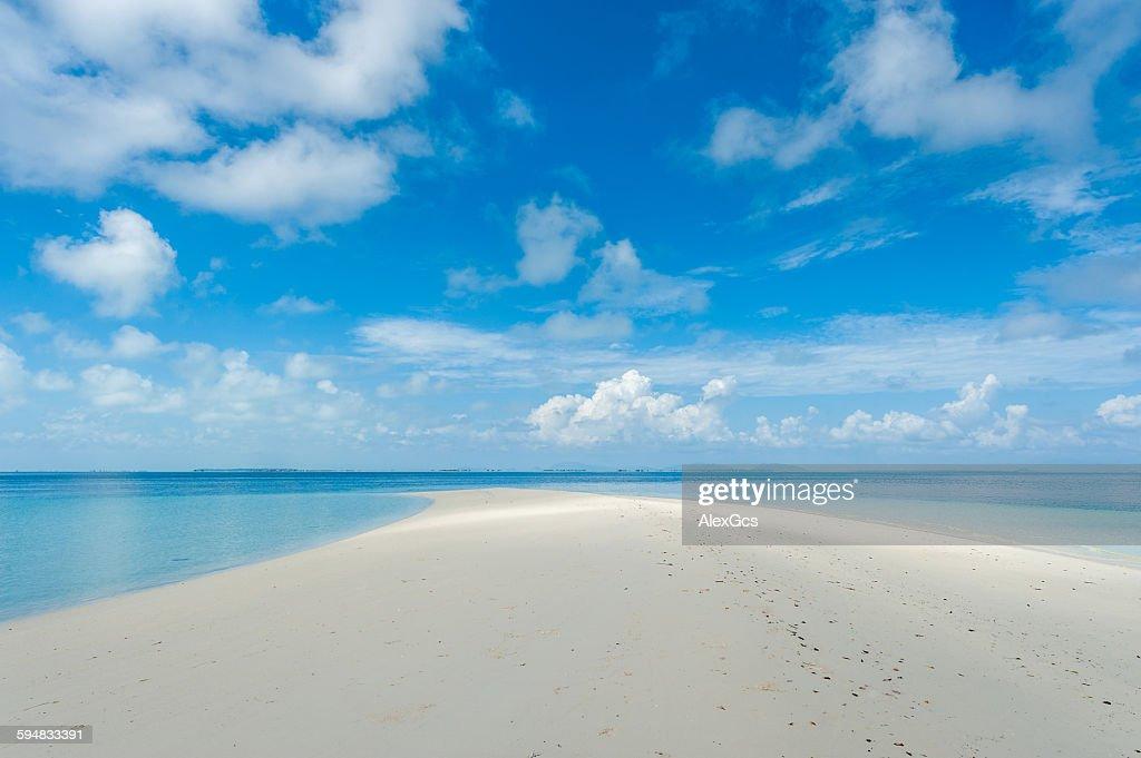Blue Lagoon, Semporna, Sabah, Malaysia : Stock Photo