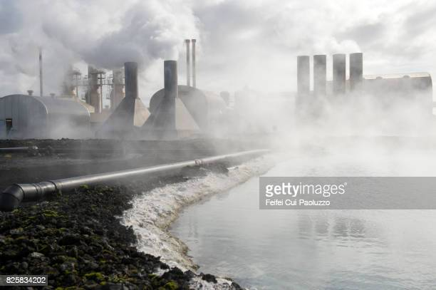 Blue lagoon thermal power station, Iceland