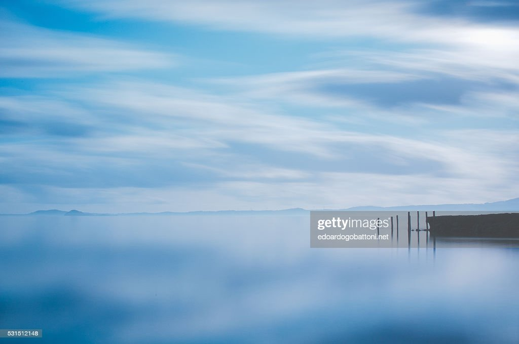 Blue Lake : Foto stock
