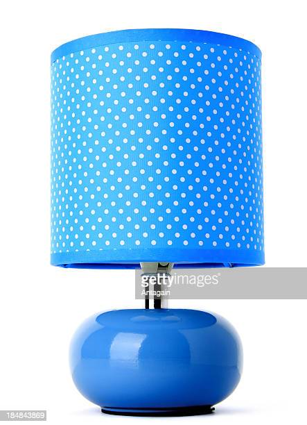 blue lamp - lamp stock photos and pictures