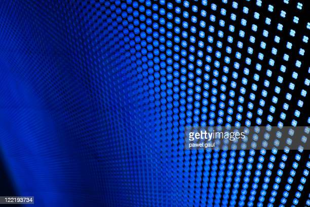 Blue LED-Leuchten.
