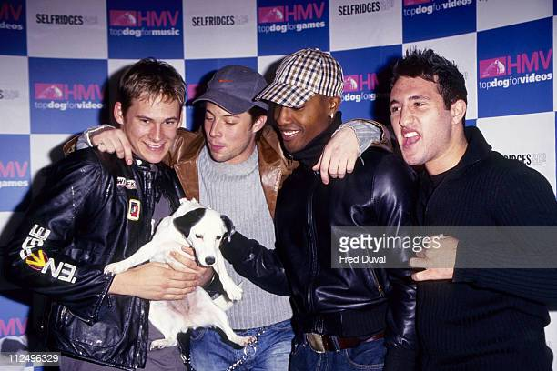 Lee Ryan Duncan James Simon Webbe and Anthony Costa