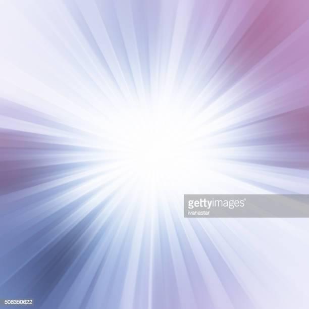 ブルーの光ビーム抽象的な背景