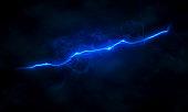 blue lightning