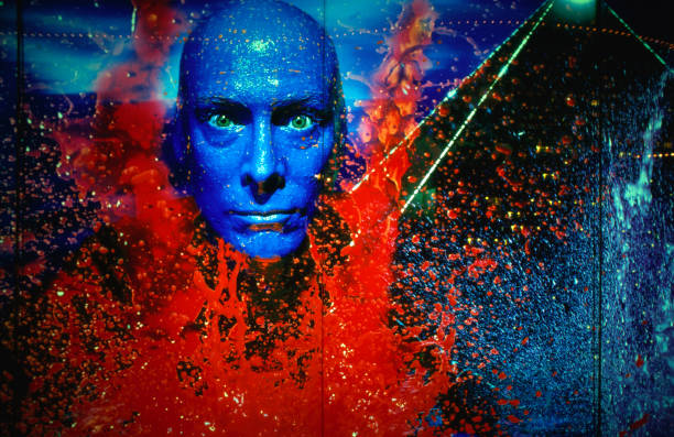 Blue Man Group (BMG) at the Luxor Hotel and Casino.