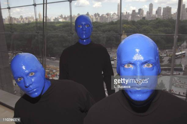 Blue Man Group during Blue Man Group Featured On XM Satellite Radio's Artist Confidential June 22 2007 at Jazz at Lincoln Center XM Satellite Radio...