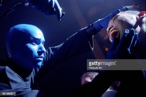 Blue Man Group performing at Hammerstein Ballroom on Monday night May 19 2003
