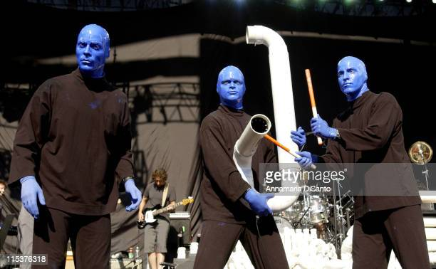 2 Festival during David Bowie and Moby Perform at the 2nd Annual Area2 Festival at Verizon Amphitheater in Irvine California United States