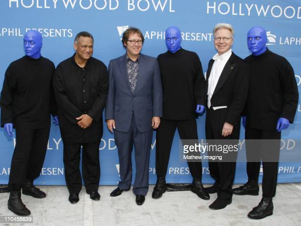 Blue Man Group with Andre Watts James Spader and John Mauceri