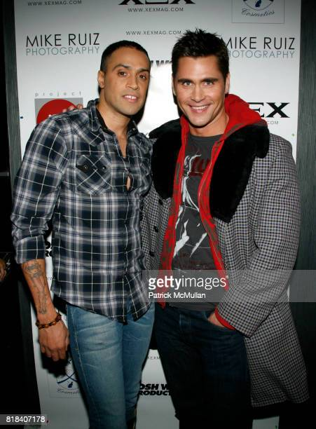 Blue Michael and Jack MacEnroth attend XEX MAGAZINE Issue 2 Release Party at SL on February 7 2010 in New York