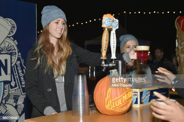 Blue Moon is served at The Food Network & Cooking Channel New York City Wine & Food Festival Presented By Coca-Cola - Smorgasburg presented by...