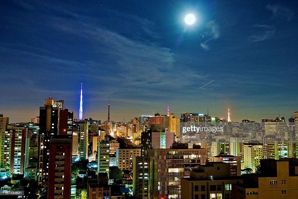 Blue moon : Foto de stock