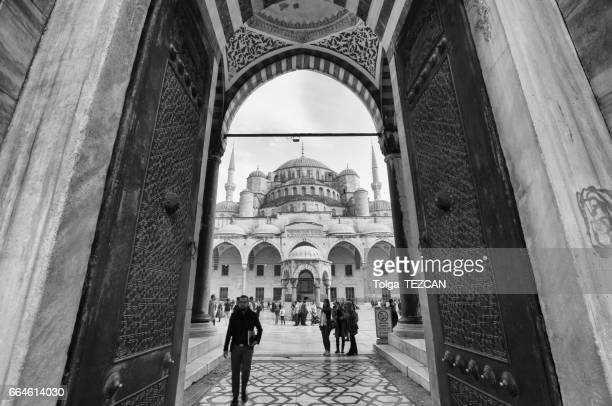 blue mosque in istanbul - ottoman empire stock photos and pictures