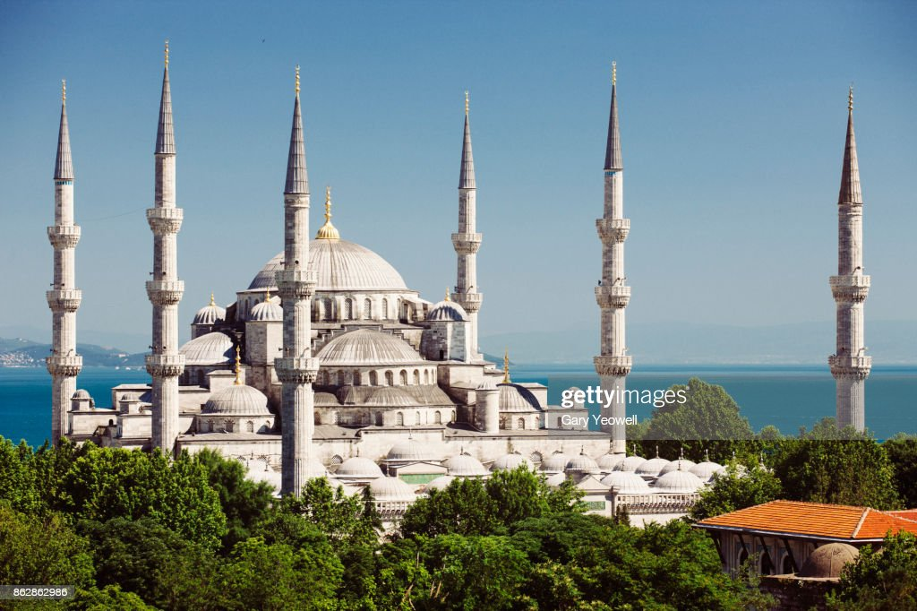 Blue Mosque in Istanbul : Stock Photo